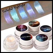 Glitter-Eyeshadow-Palette-Cream-Make-Up-Face-Brighten-Highlighter-Shining-Shimmer-Powder-Pigment-White-Blue-Pink