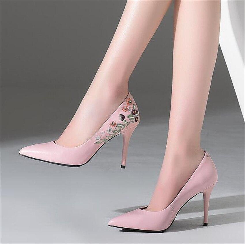 ZOUDKY/2018, тонкие туфли в южнокорейском стиле, туфли на высоком каблуке с острым носком, изящные туфли на высоком каблуке