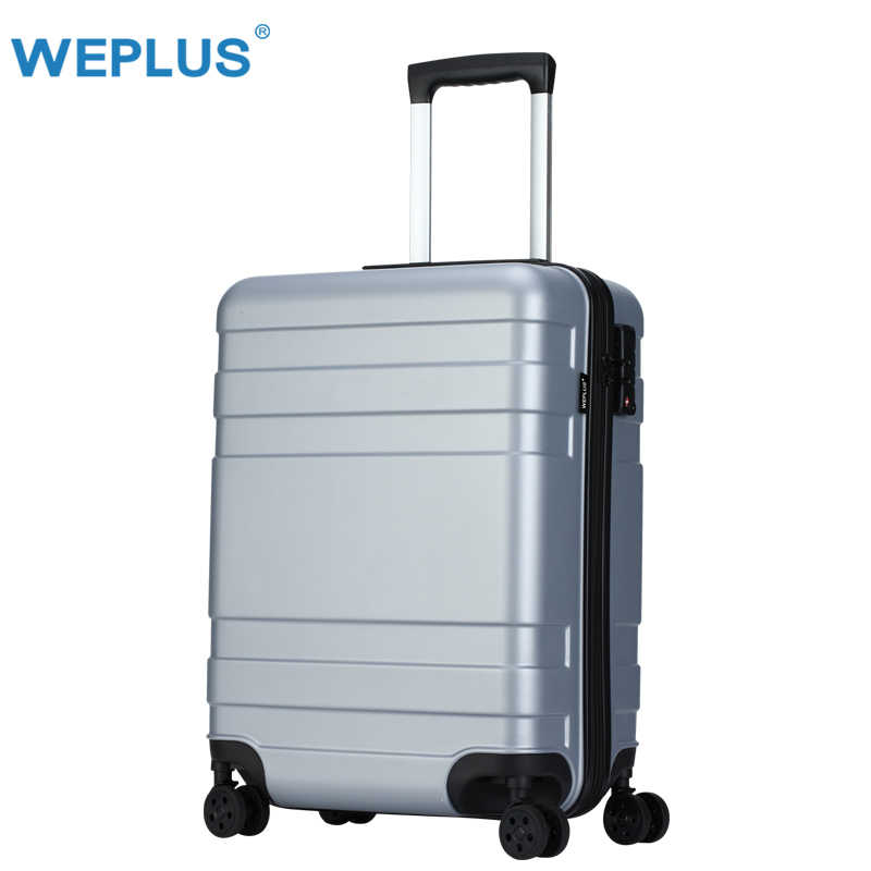 d7fe70234309d5 ... WEPLUS Rolling Suitcase Business Luggage Hardside Travel Suitcase with  Wheels Carry on Luggage TSA Lock Women ...