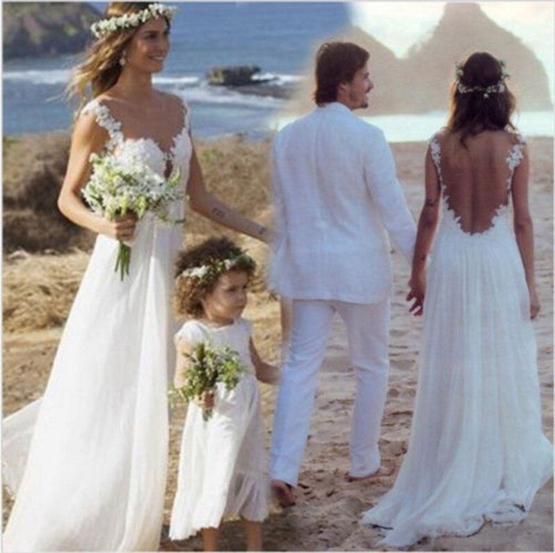 Abito da sposa per il mare