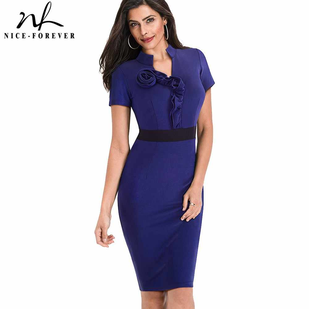 6b72869f3d Detail Feedback Questions about Nice forever Fitted dress Women's ...