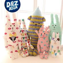 CRAFTHOLIC Purple Love Heart rabbit ultra plush rabbit doll lovely long pillow cushion soft toy free