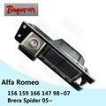 BOQUERON para Alfa Romeo 156 159 166 147 Brera Aranha 05 ~ HD CCD À Prova D' Água Câmera Do Carro de backup invertendo câmera de visão traseira