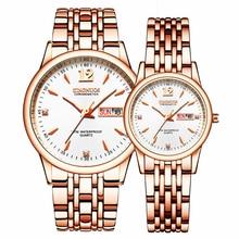 KINGNUOS Analog Digital Watches Men Luxury Brand Stainless S