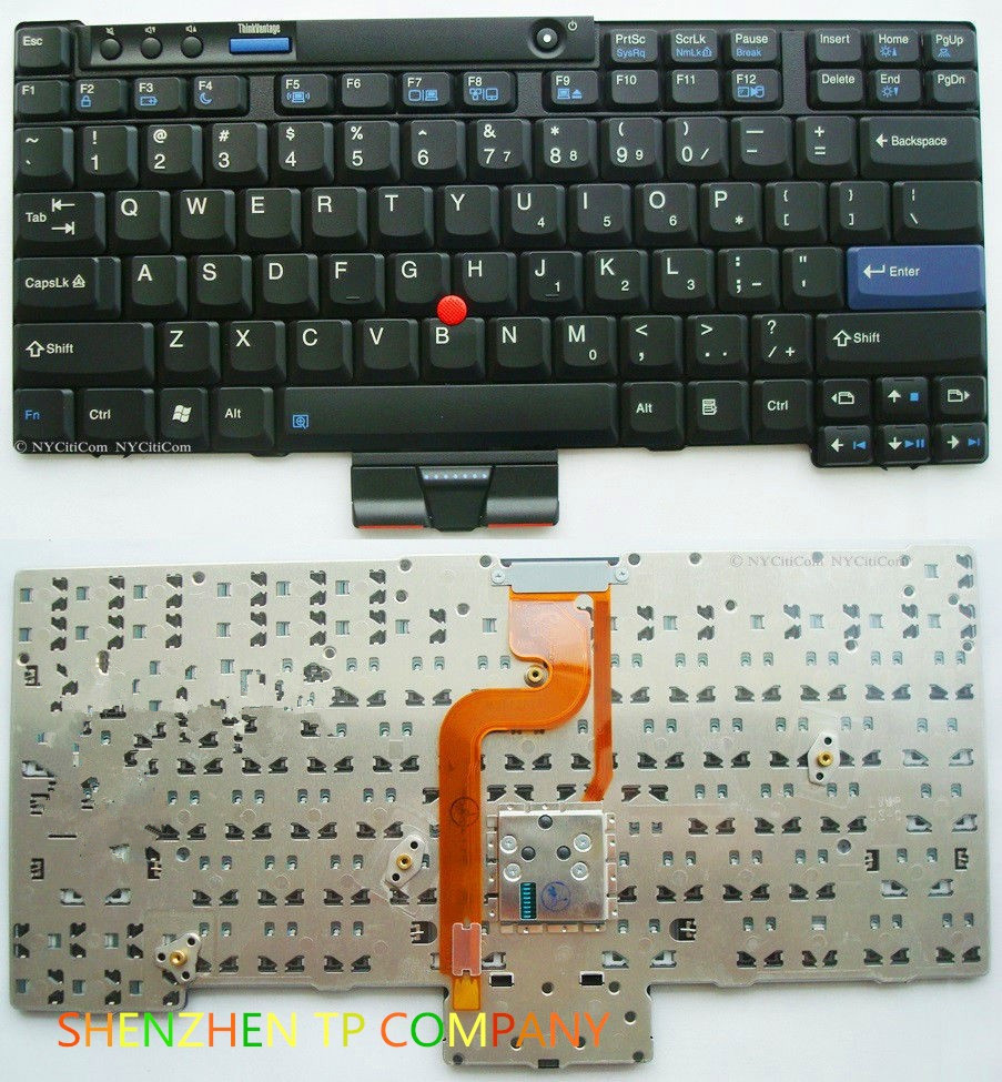 Brand New laptop <font><b>keyboard</b></font> For IBM Thinkpad <font><b>X200</b></font> X200S X200T X201 X201i X201S X201T laptop US Black <font><b>Keyboard</b></font> image