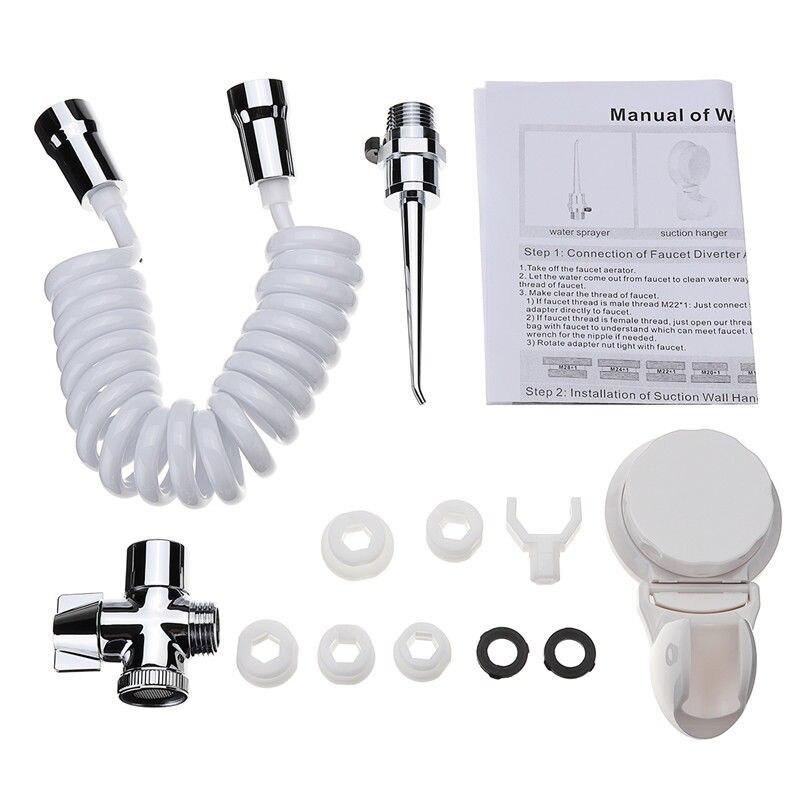 12 pièces dentaire Spa Jet d'eau Flosser Oral irrigateur dents brosse à dents Pick Cleaner|Irrigateurs buccaux| |  -