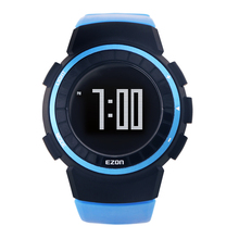 EZON Hombres Corriendo Podómetro Deportes Al Aire Libre Relojes Digitales 50 M Impermeable de Múltiples Funciones Del Reloj de la Caloría de Fitness T029