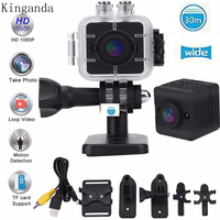 Intelligent Waterproof Camera 155 Degree Wide Angle Lens Camcorder DV Video Recorder IR Nightshot Sports Mobile