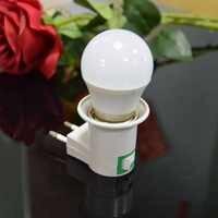 Excelente Gabinete Luz na noite 180 Graus levou mais brilhante conduziu a luz do armário com 5 W E27 lâmpada do Bulbo