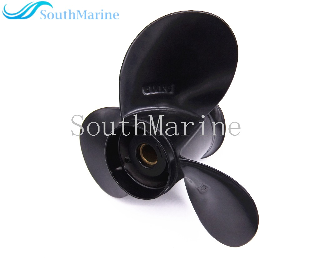 9 1/4X9 Boat Engine Aluminum Alloy Propeller  for Suzuki 9.9HP 15HP Outboard Motors 9 1/4 X 9