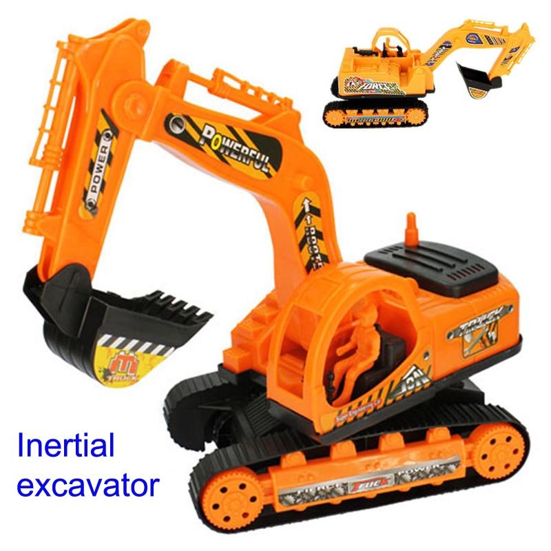 inertial car kid truck back car plastic beach toy car excavator engineering car toy kid toys