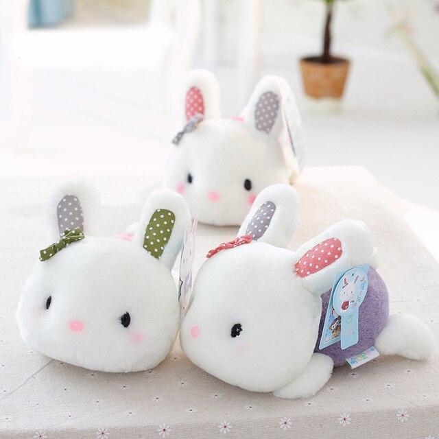 1 шт. Симпатичные 18 см Кролик Маленький Кролик Плюшевые Игрушки Маленькие Плюшевые Игрушки Свадебный Подарок Для Девочек Детей