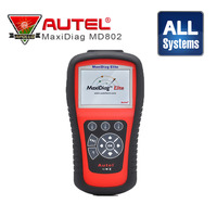Autel Maxidiag Elite MD802 All Systems (DS model+Oil Service Reset+EPB+Data Stream) Autel MD802 Diagnostic Tool Update Online