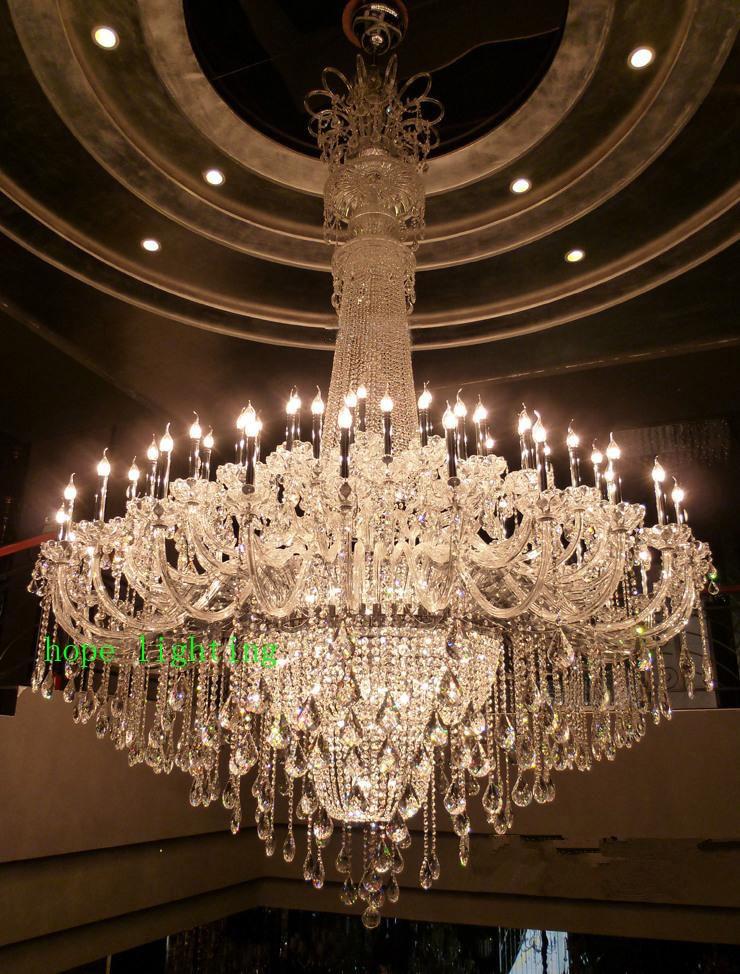Dupleks vile v evropskem stilu K9 lestenec s svečami Luksuzni - Notranja razsvetljava - Fotografija 2