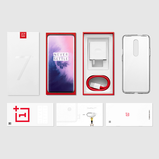 Global ROM Oneplus 7 Pro 8GB RAM 256GB ROM Smartphone Snapdragon 855 6.67 Inch 90Hz AMOLED Display Fingerprint 48MP Cameras NFC 5