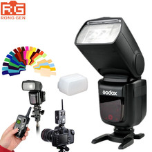 Godox V860C TTL Li-ion Camera Photo Studio Flash Light Speedlite For Canon + Godox FT-16S Flash Trigger Receiver + Transmitter
