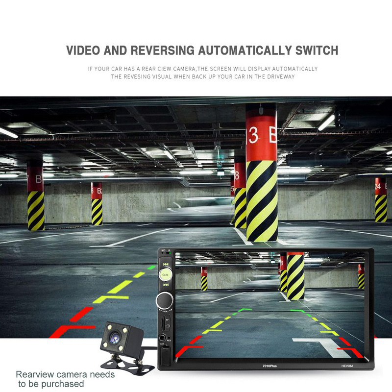 Image 5 - 7 Inch Car MP4 MP5 Players Central Multimedia Touch Screen Night vision Rear View Camera Bluetooth Auto FM Radio Video Player-in Car MP4 & MP5 Players from Automobiles & Motorcycles