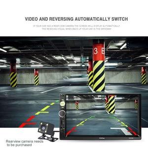 Image 5 - 7 pollici Auto MP4 MP5 Giocatori Centrale Multimedia Touch Schermo di visione Notturna Videocamera Vista Posteriore Bluetooth Auto Lettore Video Radio FM