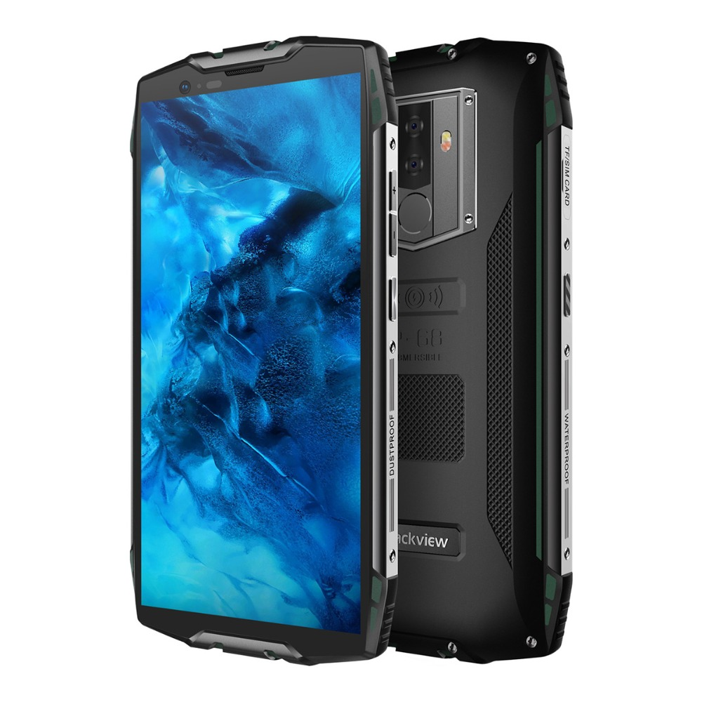 """HTB1VPZhKXuWBuNjSszbq6AS7FXaW Blackview BV6800 Pro Android 8.0 Outdoor Mobile Phone 5.7"""" MT6750T Octa Core 4GB+64GB 6580mAh Waterproof NFC Rugged Smartphone"""