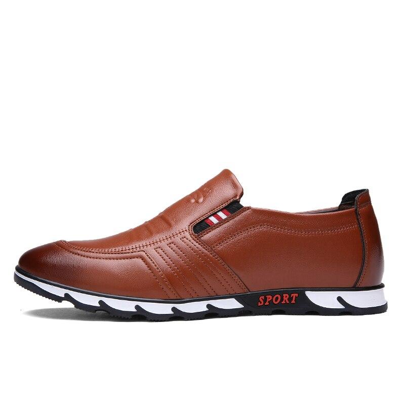 Men Loafer Shoes Brown online - MiraShop