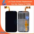 Comerciante ll 100% de garantía original para htc desire x t328e LCD de Alta Pantalla de Visualización con Pantalla Táctil Digitalizador Asamblea Envío herramientas