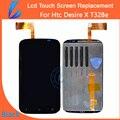 Ll comerciante garantia de 100% original para htc desire x t328e LCD Display de Alta Tela com Tela de Toque Digitador Assembléia Grátis ferramentas