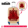 Dispalang Rock Suitcase Cover Luggage Wateproof Protective Covers Womens Mens Travel Accessories Supply 18-30 inch Torrley Case