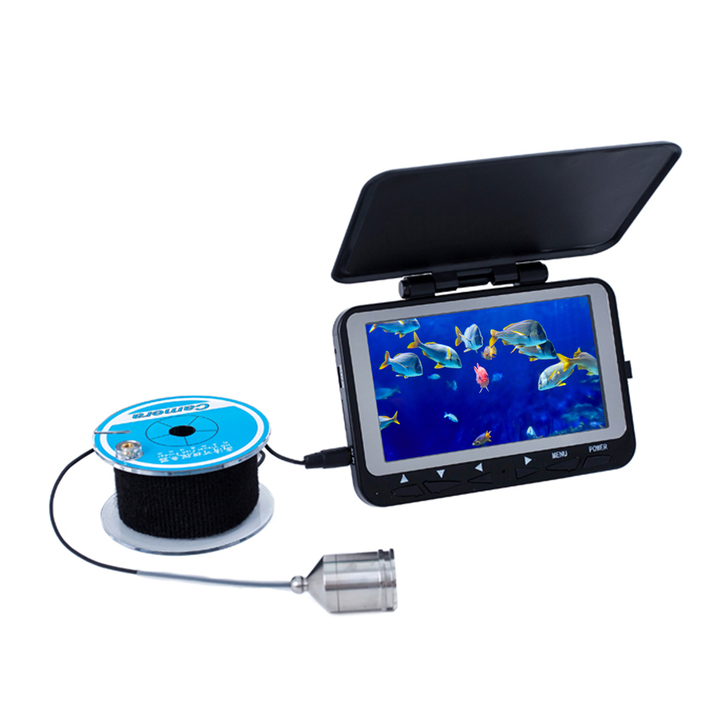 4.3 HD 800TVL CMOS Sensor Underwater Video Camera System Color LCD Fishing Camera Kit Fish Finder With DVR Function 15M Cable dreambox 800 hd крайот