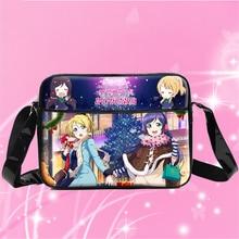 Новый японии аниме любовь онлайн косплей сумка женщины девушки студенты книги мешок PU водонепроницаемый сумки