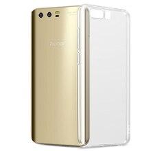 Şeffaf Yumuşak TPU silikon kılıf Için Huawei P20 Pro P10 lite Mate 9 10 Pro lite Nova 2 2i Onur 6A 6X7X9 10 6C 8 çanta