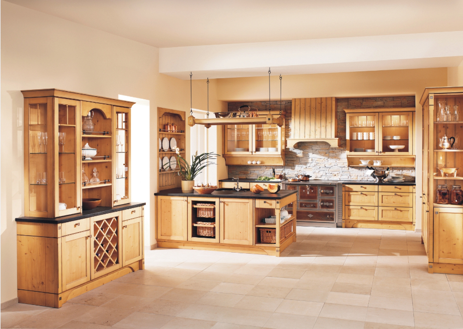 2015 Prefab Kitchen Cupboard Kitchen Cabinets Solid Wood Furniture
