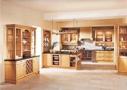2017 сборный кухонный шкаф, шкафы из твердой древесины, мебель китайские поставщики модульные кухонные шкафчик