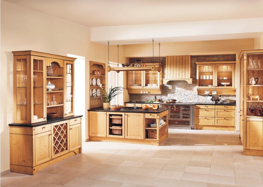 2017 Prefab Kitchen Cupboard Kitchen Cabinets Solid Wood Furniture