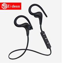 Беспроводные Bluetooth спортивные наушники, мини гарнитура, Bluetooth гарнитура с микрофоном, ушные крючки, наушники для iPhone All SM
