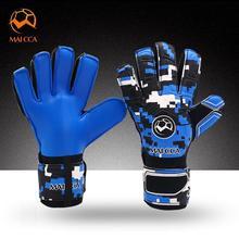 Взрослые вратарские перчатки Детские утепленные латексные противоскользящие футбольные матчи тренировочные с защита пальцев футбольный голкиперский набор