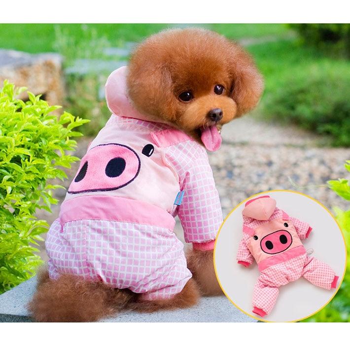 Envío gratis invierno ropa para perros perro suerte cerdo abajo ...