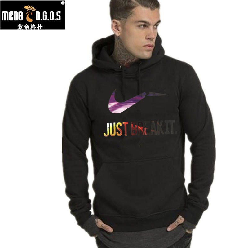 2017 New sale Mens Hoodies and Sweatshirts autumn winter lovers casual with a hood jacket men coat hoodie