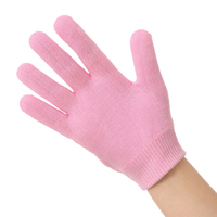 1pair Reusable Beauty Hand Mask Gel Spa Gloves Moisturizing Whitening Exfoliating Mask Ageless Hands Skin Care Silicone Glove Skin Care