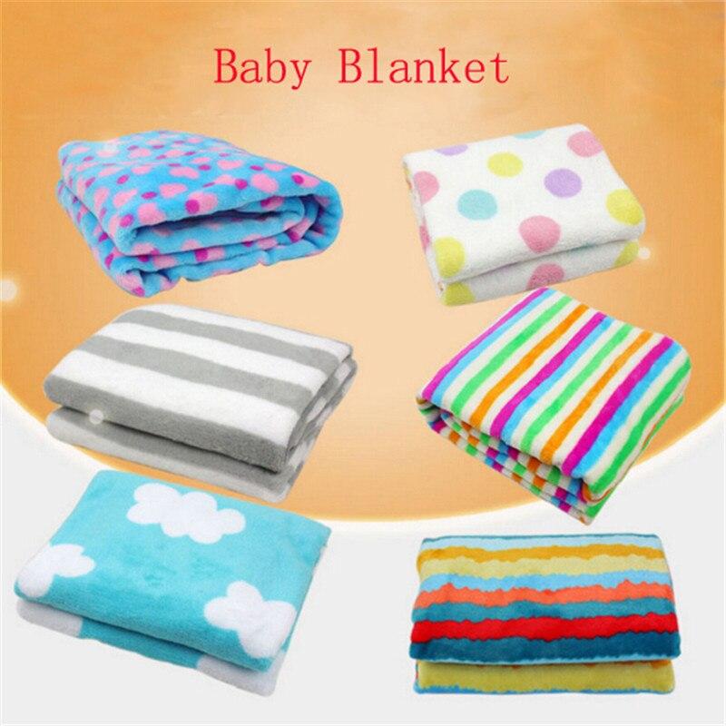 Erfinderisch Baby Decken Verdicken Doppel Schicht Korallen Fleece Infant Swaddle Umschlag Wrap Neugeborenen Baby Kind Warme Kinderwagen Bettwäsche Decken Bequem Und Einfach Zu Tragen