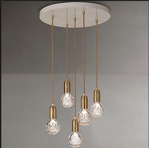 Lee Broom Crystal Bulb Chandelier roomble потолочный светильник lee broom decanterlight chandelier