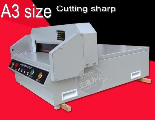 450mm Electric Paper Cutter Cutting Machine Guillotine 40mm Paper Thickness A3 size lost ink повседневные брюки