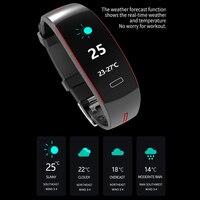 Waterproof Blood Pressure Wrist Band Heart Rate Monitor Smart Bracelet Activity Fitness Tracker Electronics Wristband