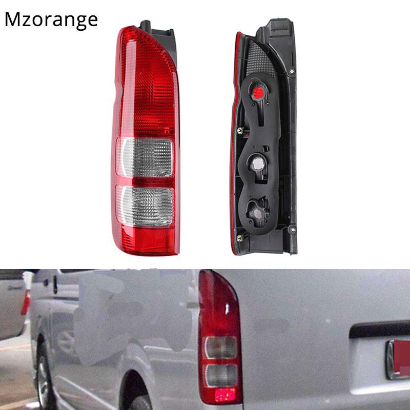 Mzorange 1 Pcs Tail Light For Toyota Hiace 200 Series for Commuter 2005 06 07 08 09 2019 Tail Rear Brake Light With Bulb/No Bulb
