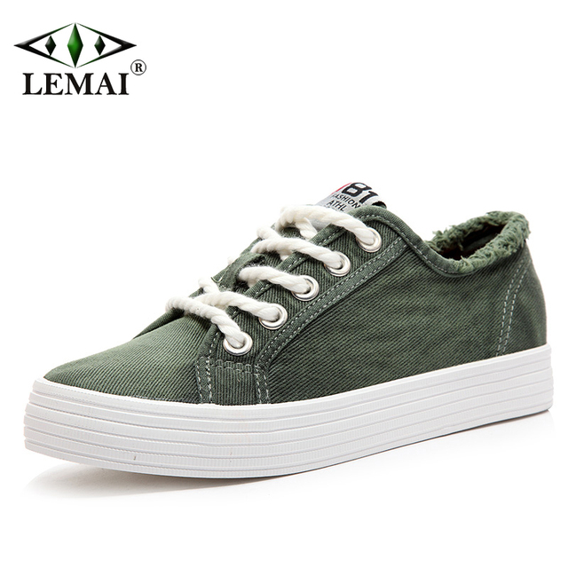 New Leisure Women Canvas Shoes Summer Autumn Breathable Sport Girl Sneakers Brand Skateboarding Shoes Female Drop Shipping A58