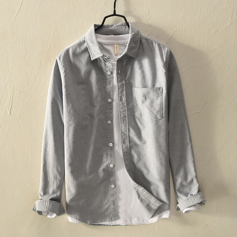 100% Wahr Neue Herbst Mode Marke Kleidung Slim Fit Männer Langarm-shirt 100% Baumwolle Casual Männer Shirt Y286 Preisnachlass