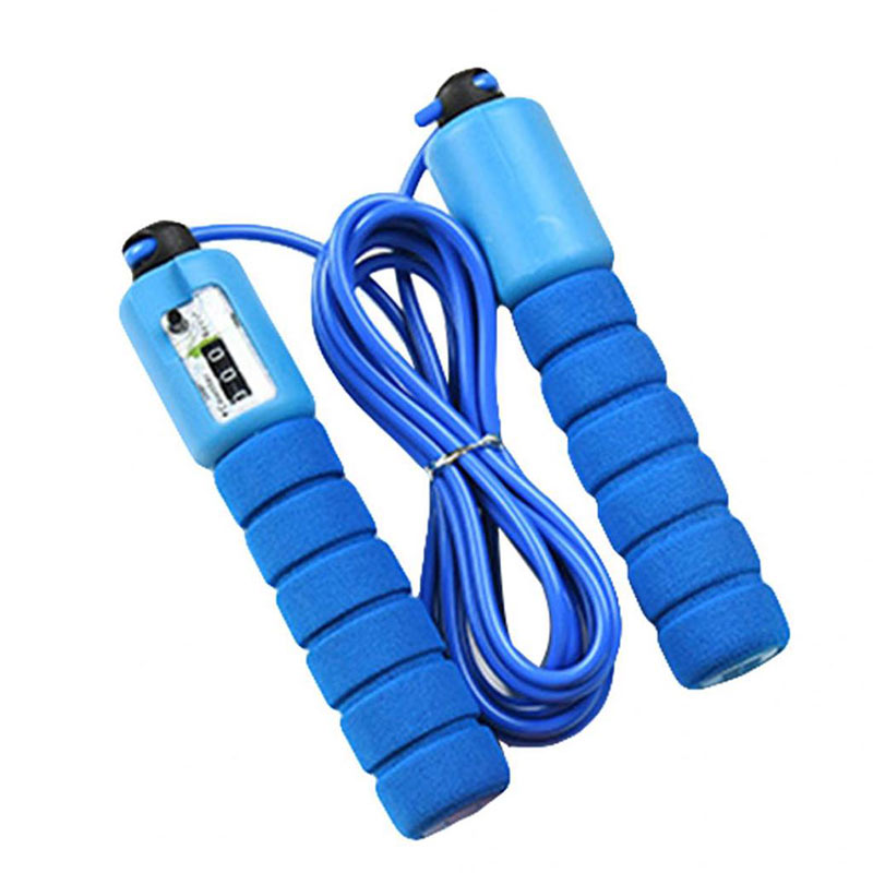 Speed Skipping Jump Rope Adjustable Sports Lose Weight Exercise Gym Fitness Equipment Fast Speed Counting Jump Skip Rope image