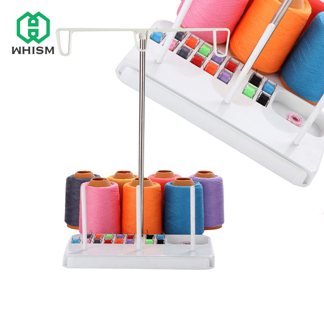 Stainless Steel Steady 3 Spool Stand Holder Embroidery Thread