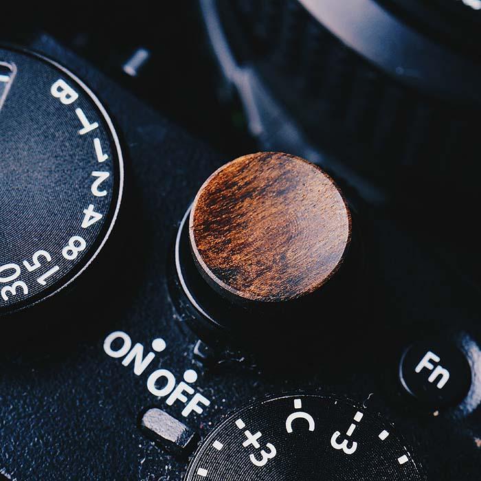 Деревянная кнопка спуска затвора для Fuji XT2 XT10 XT20, X100F, FujiFilm X T2