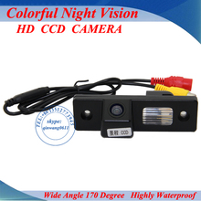 Promotion CCD Car rear view camera Car parking backup camera HD color night vision for toyota innova car reversing camera