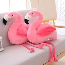 45cm fylld leksak flamingo plysch leksaker mjuk kawaii simulering djur kudde söt samling rum dekor leksaker för barn gåva